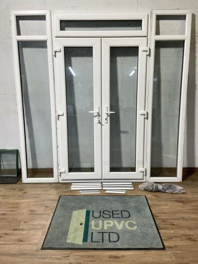 UPVC-PVCU-FRENCH-DOORS-WHITE-SIDE-LIGHTS-DOUBLE-GL