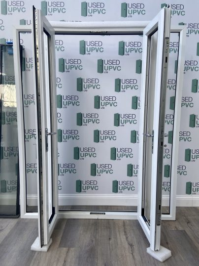 UPVC-PVCU-FRENCH-DOORS-WHITE-WIDE-USED-DOUBLE-GLAZ-3