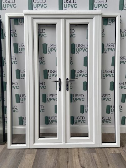 UPVC-PVCU-FRENCH-DOORS-WHITE-WIDE-USED-DOUBLE-GLAZ-1