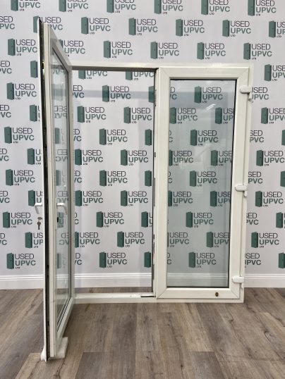 UPVC-PVCU-FRENCH-DOORS-WHITE-TALL-USED-DOUBLE-GLAZ-2
