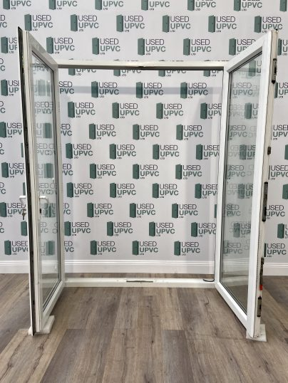 UPVC-PVCU-FRENCH-DOORS-WHITE-TALL-USED-DOUBLE-GLAZ-3